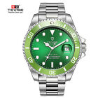 US TEVISE Business Men Automatic Mechanical Stainless Steel Calendar Watch MAWristwatches - 31387