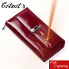 Contact's Hot Sale Genuine Leather Clutches Women Bag Coin Purse Handbag image