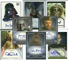 star munchkin card list - Topps Authentic: Star Wars - TRADING CARD AUTOGRAPHS - (1995-2015) PICK-LIST