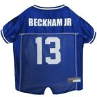 Odell Beckham Jr. Dog Jersey #13 New York Giants NFLPA Pet Apparel XS-XL