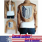 HOT NEW Attack on Titan Shingeki no Kyojin Levi Scouting Legion Cosplay Costume