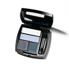 Avon True Colour Eyeshadow Quad ~ 4 shades one palette ~ mirrored compact
