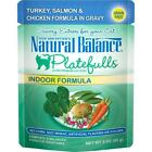 Natural Balance Platefulls Indoor Grain Free Turkey Salmon &