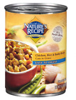 Nature's Recipe Easy to Digest Chicken Rice and Barley Cuts in Gravy Canned Dog