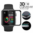PASBUY 3D Full Cover Tempered Glass ScreenProtector for Apple Watch Series 3 2 1
