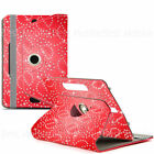 New 360° Rotating Flip PU Leather Case Cover Stand for Samsung Galaxy Tab