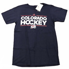 COLORADO AVALANCHE ADIDAS NHL S/S (GO-TO TEE) T SHIRT NAVY BLUE SZ S M L XL NWT on eBay