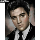 5D DIY Diamond Painting Elvis Presley Full Square Cross Stitch 25x30/30X40/40X50