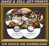 More images of OLD MASTERS PAINTINGS PRINT-MAKING HOME BUSINESS - UNIQUELY-ENHANCED IMAGES