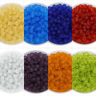 750pcs/lot Frosted Glass Czech Seed Beads Jelly Spacer Jewelry Diy Findings