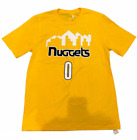 YOUTH SIZE DENVER NUGGETS (EMMANUEL MUDIAY) NBA YELLOW T SHIRT SIZES S/M/L/XL on eBay