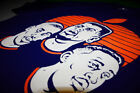 blue and orange patrick ewings - Nwt Fnly94 Navy Blue Orange Patrick Ewing John Starks shirt mason supreme M-3XL