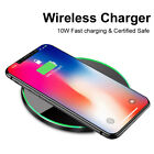 Samsung i Phone Wireless Qi Cellphone Charger Cordless Charging Pad Universal
