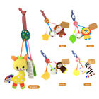 Baby Rattle Ring Plush Crib Bed Hanging Animal Teether Infant Appease Toy Doll