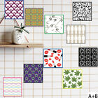 Ep_ Vintage Color Matching Pvc Wall Tile Sticker Decal Kitchen Home Decor Eyeful