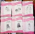VTG Sew Patterns Sew-Knit-N-Stretch CHOICE Bra/Panty/Slips/Girdle/Pettipants