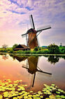 Diamond Painting DIY 5D Netherlands Windmill Cross Stitch for Wall Decoration