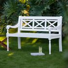 Belham Living Holland X-Back Outdoor Bench