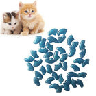 20Pcs Simple Soft Rubber Pet Dog Cat Kitten Paw Claw Control Nail Caps Cover HOT