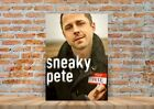 Sneaky Pete TV Show Poster or Canvas Art Print - A3 A4 Sizes