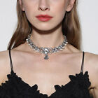 Prom Choker Bridal Bling Necklace Party Diamante Crystal Rhinestone Jewelry UK <br/> 7 Style✔High Quality✔Fast & Free Post✔UK Stock✔