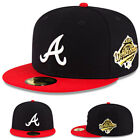 New Era Atlanta Braves Fitted Hat MLB 1995 World Series Cooperstown Classic Cap