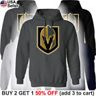 Las Vegas Golden Knights Hooded Sweatshirt Logo Sweater Shirt Hoodie Men LV $24.71 USD on eBay