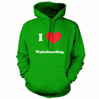 I Love Wakeboarding - Unisex Hoodie - 9 Colours Equipment