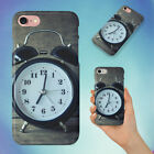 ACCURATE ALARM ALARM CLOCK ANALOGUE HARD BACK CASE FOR APPLE IPHONE PHONE