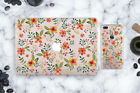 Summer Flowers Macbook 11 Air 13 Rigid Plastic Case iPhone X Plastic Floral Set