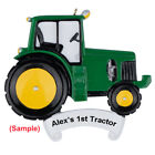 MAXORA Green Tractor Personalized Christmas Ornaments Christmas Gift