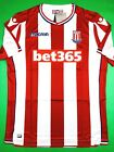 NWT STOKE CITY 2017 18 L Macron Home Soccer Jersey Football Shirt SCFC EPL