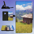 BARN BUILDING CABIN CLOUDS FLIP CASE COVER FOR SAMSUNG GALAXY PHONE for sale  Shipping to Canada