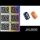 Charm Nail Art Stencil Hollow Stickers Women Manicure Supplies Beauty DIY Decal