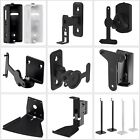Tilt Swivel Wall Mount Floor Stand For SONOS PLAY 1 3 5 Speaker Durable Steel