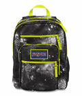 JanSport Big Student Backpack/ Rucksack/ School Bag Black-Navy-Grey-Red JTDN7