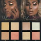 Huda beauty 3D Highlighter Palettes - Golden Sands - Pink Sands - GENUINE.