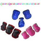 1/2/6/7/12pcs Skateboard Blading Elbow Wrist Knee Safety Gear Pad Guard Helmet