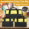 S/M/LNylon Canvas Tool Bag Heavy Duty Storage Toolbag With Pockets Waterproof