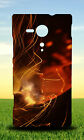 BURNING COAL HARD BACK CASE FOR SONY XPERIA PHONES