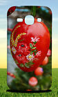 RED EASTER EGG FLOWER HARD CASE FOR SAMSUNG GALAXY PHONES
