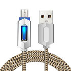 NEW Braided LED USB Cable Android Sync Data Cable Type-C Fast Charging Cables