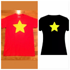Steven's Universe Star Shirt Unisex T Shirt Youth S- Adult XL Red Black Yellow image
