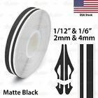 """1/2"""" PIN STRIPE Car Model Motorcycle Decal Twin Line TAPE Vinyl Stickers 12mm"""