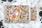 Floral Apple Macbook iPhone Plastic Cases Set Macbook Air 13 Pro 15 2017 Retina