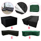 Outdoor Rattan Garden Furniture Dustproof Covers Table Sofa Set Cover Protection
