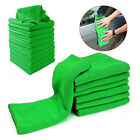 5/10x Soft Auto Car Microfiber Wash Cloth Cleaning Towels Hair Drying DusterEP