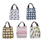 Vintage Lunch Bag Women Canvas Lunch Bag Insulated Lunch Bag Girls Lunch Bag New