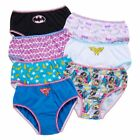 Justice League Panties Toddler Girls Briefs 7-Pack 2T/3T, 4T Underwear