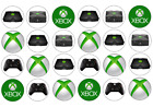 24/30/personalised  XBOX - CUPCAKE TOPPERS - RICE PAPER HAPPY BIRTHDAY